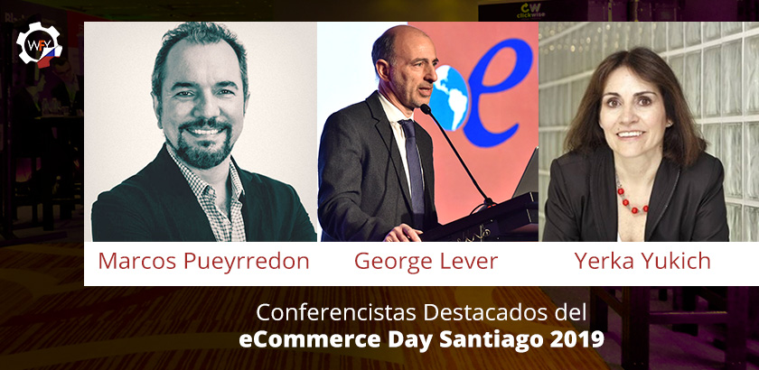 Conferencistas Destacados del eCommerce Day Santiago 2019