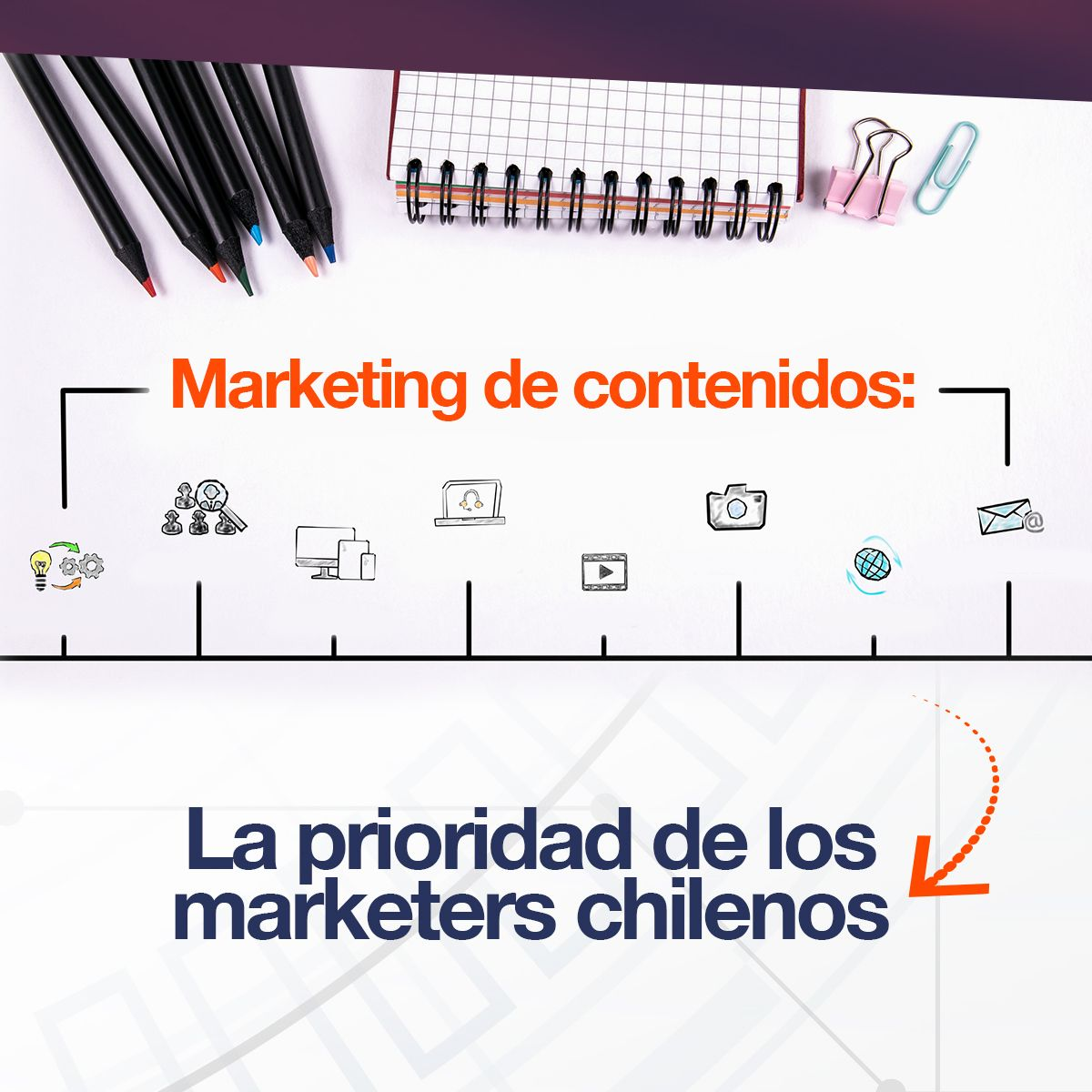 Marketing de contenidos: La prioridad de los marketers chilenos